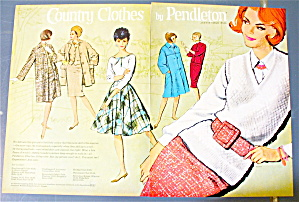 1963 Country Clothes By Pendleton with Women (Image1)