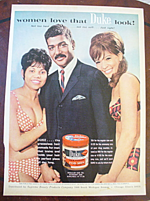 1967 Duke For Men with Man & 2 Women In Bathing Suits  (Image1)