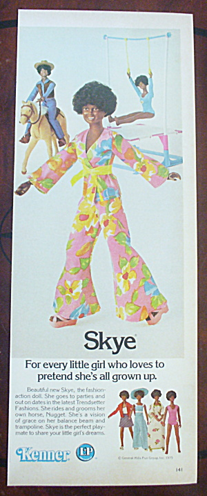 1975 Kenner With Skye Doll