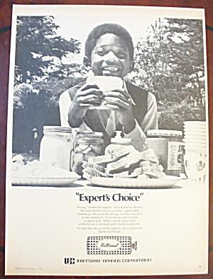 1975 Butternut Bread w/ Boy Smiling & Holding Sandwich (Image1)