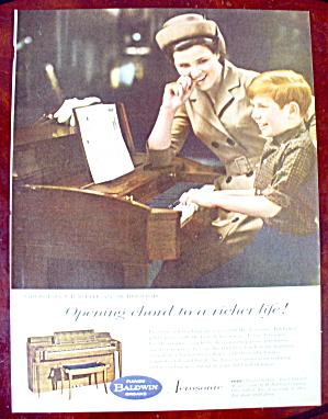 1963 Baldwin Piano with Boy Playing Piano  (Image1)