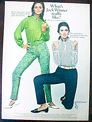 1966 Action Wear With Jack Winter & Two Women (Image1)