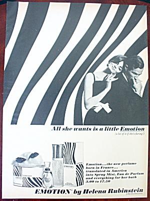 1966 Helena Rubinstein With Emotion & Couple Hugging (Image1)