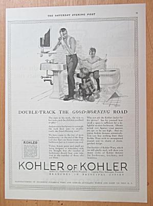 1923 Kohler of Kohler with Man Shaving with Boys Around (Image1)
