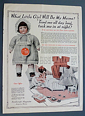 1926 Needlecraft Magazine with Little Girl's Doll (Image1)