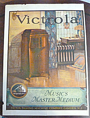 1923 Victor Talking Machine Company With Victrola