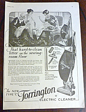 1922 Torrington Electric Cleaner w/Women Talking  (Image1)