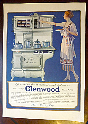 1922 Gold Medal Glenwood with Woman Cooking  (Image1)
