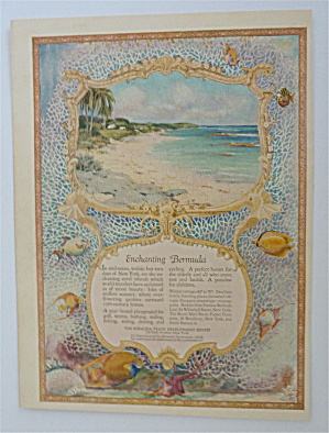 1926 Enchanting Bermuda With A Lovely Seashore