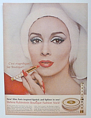 1963 Helena Rubinstein Boutique Fashion Stick W/ Woman