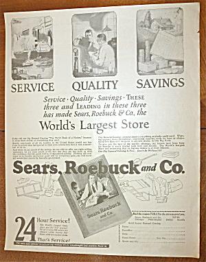 1924 Sears, Roebuck & Company with Catalog  (Image1)