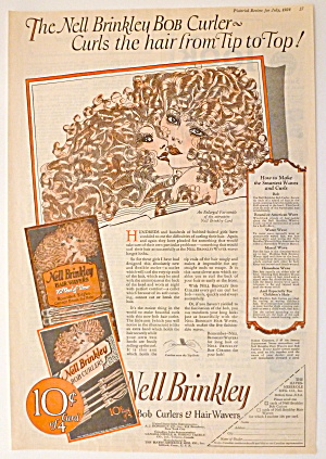 1924 Nell Brinkley Bob Curlers & Hair Wavers W/women