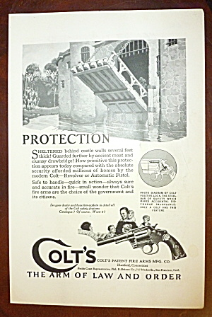 1924 Colt's Fire Arms with Castle Opening Draw Bridge (Image1)