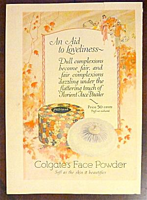 1924 Colgate Face Powder with Florient Face Powder (Image1)