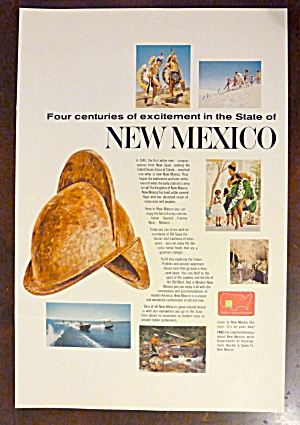 1966 New Mexico with Four Centuries Of Excitement  (Image1)