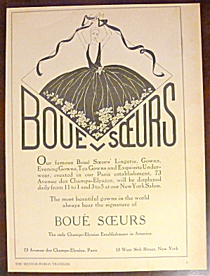 1930 Boue Sceurs with a Woman in a Gown  (Image1)