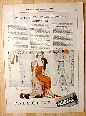 1920 Palmolive Soap with Woman Sitting in Chair (Image1)