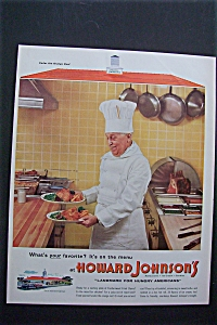 1955  Howard Johnson's Restaurants (Image1)