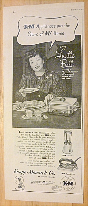 1949 Knapp Monarch Appliances W/ Lucille Ball