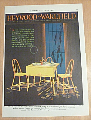 1929 Heywood & Wakefield With Lovely Breakfast Set