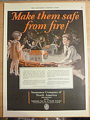 1927 Insurance Company Of America W/children By Tree