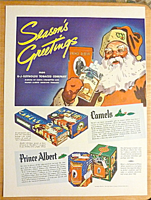 1936 Camel Cigarettes with Santa Claus  (Image1)