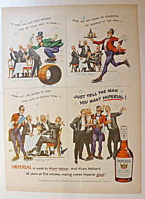 1950 Imperial Whiskey with Men Who Want Imperial  (Image1)