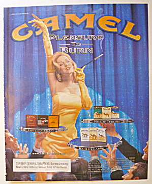 2003 Camel Cigarettes w/Lovely Woman Holding Cigarette (Image1)
