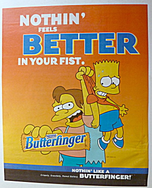 2001 Nestle Butterfinger with Bart Simpson (Image1)