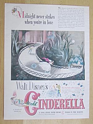 1950 Walt Disney's Cinderella with Cinderella & Prince (Image1)