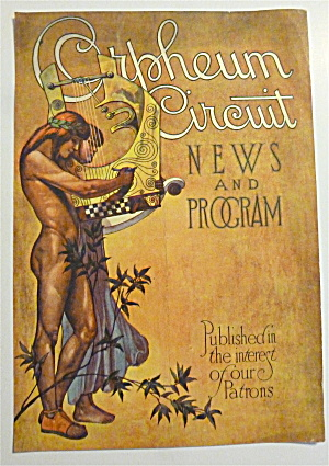 1920's Orpheum Circuit News & Program with Women (Image1)
