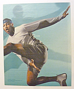 2003 Nike Sphere with Basketball's Carmelo Anthony  (Image1)