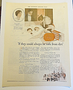 1923 Lifebuoy Soap With Mom Looking At Children (Image1)