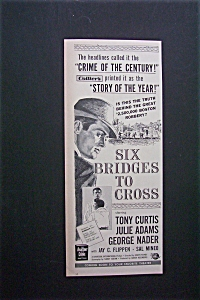 1955 Six Bridges To Cross With Tony Curtis
