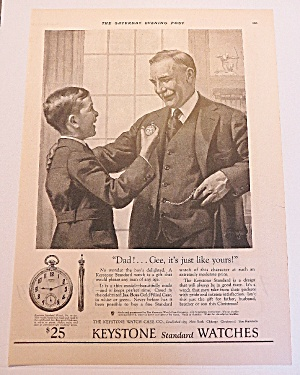 1924 Keystone Watches With Father & Son