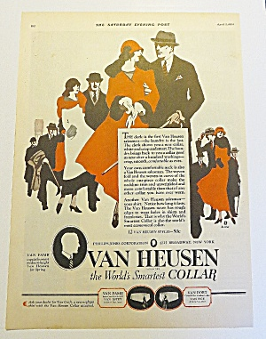 1924 Van Heusen With Man & Woman Walking (Image1)
