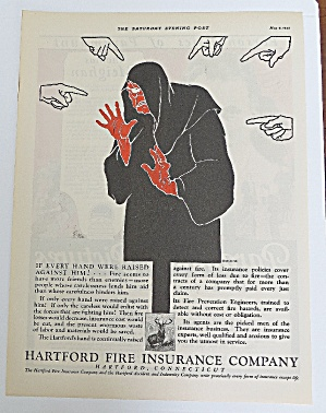 1925 Hartford Fire Insurance With Fire Enemy (Image1)