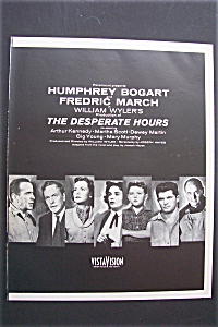 1955 The Desperate Hours With Humphrey Bogart
