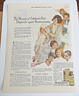 1925 Mulslfied Cocoanut Oil Shampoo With Woman & Girl (Image1)