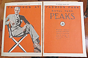 1925 Fashion Park Suits With Man In Suit (Image1)