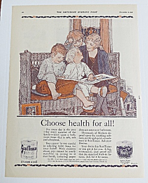 1926 Scottissue With Mom Reading To Children (Image1)