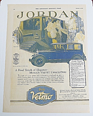 1926 Chase Velmo With Jordan Enclosed Model