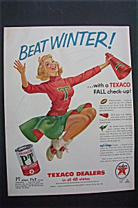 Vintage Ad: 1955 Texaco Dealers