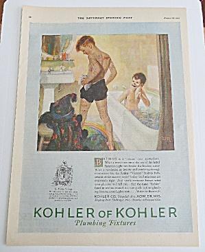 1926 Kohler Of Kohler With 2 Boys Bathing (Image1)