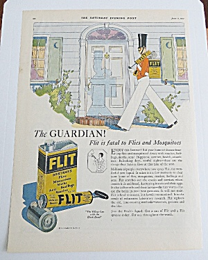 1927 Flit With Soldier Carrying Bug Sprayer (Image1)