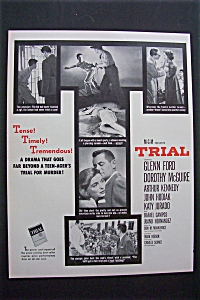 1955 Trial With Glenn Ford & Dorothy Mcguire