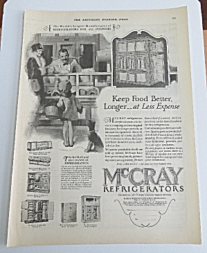 1927 McCary Refrigerator With Woman & Child Shopping (Image1)