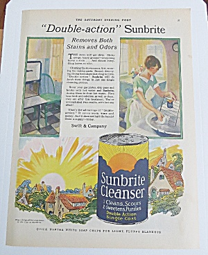 1928 Sunbrite Cleaner With Woman Cleaning (Image1)