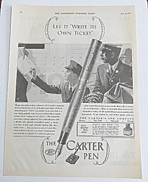1928 Carter Pen With Boy Handing A Telegram (Image1)