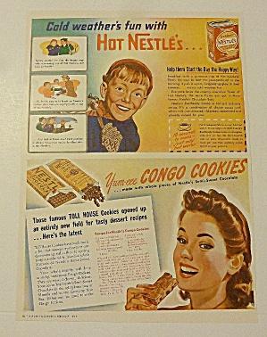 1942 Nestle Cocoa & Chocolate With Congo Cookies (Image1)